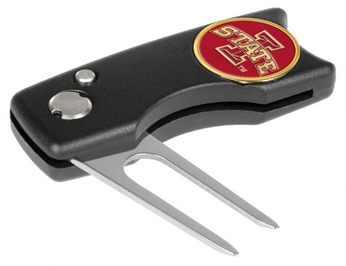 Iowa State Cyclones Spring Action Golf Divot Tool