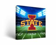 Iowa State Cyclones Stadium Canvas Wall Art