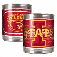 Iowa State Cyclones Stainless Steel Hi-Def Coozie Set