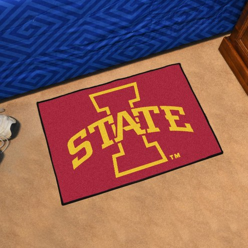 Iowa State Cyclones Starter Rug