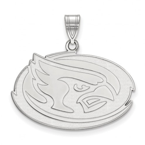 Iowa State Cyclones Sterling Silver Large Pendant