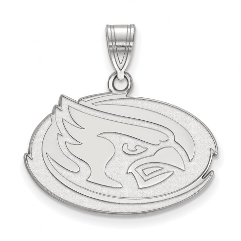 Iowa State Cyclones Sterling Silver Medium Pendant