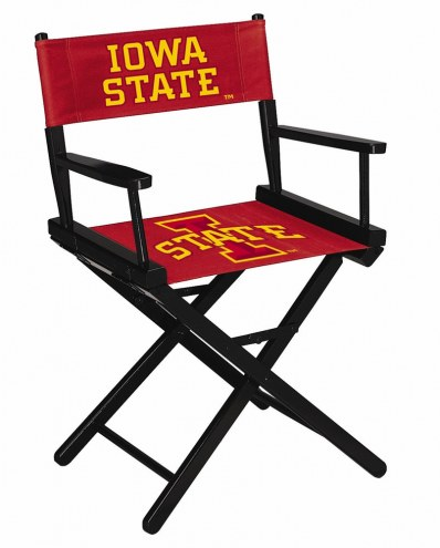 Iowa State Cyclones Table Height Director's Chair