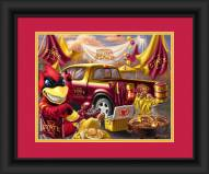Iowa State Cyclones Tailgate Framed Print