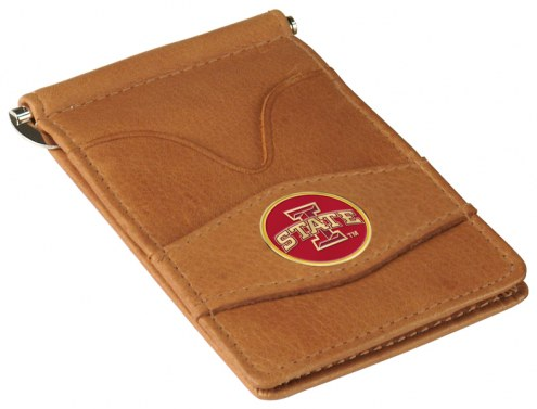 Iowa State Cyclones Tan Player's Wallet