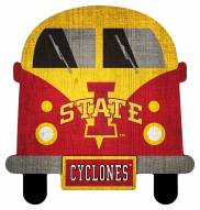 Iowa State Cyclones Team Bus Sign