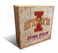 Iowa State Cyclones Team Logo Block