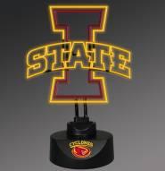 Iowa State Cyclones Team Logo Neon Lamp