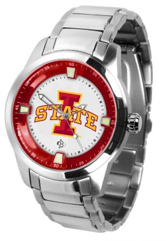 Iowa State Cyclones Titan Steel Men's Watch