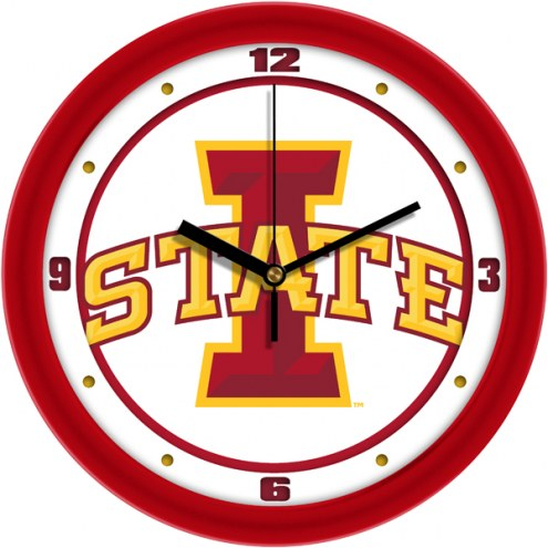Iowa State Cyclones Traditional Wall Clock