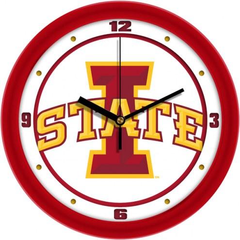 Iowa State Cyclones Traditional Wall Clock