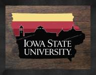 Iowa State Cyclones Uscape Wall Decor