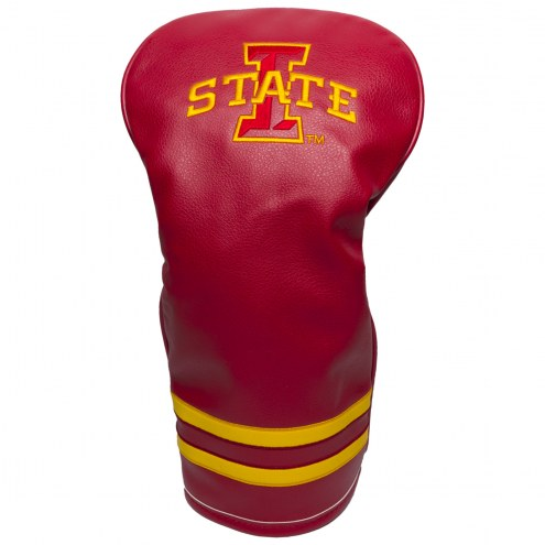 Iowa State Cyclones Vintage Golf Driver Headcover