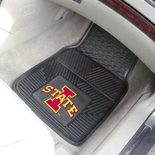 Iowa State Cyclones Vinyl 2-Piece Car Floor Mats