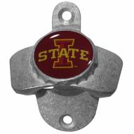 Iowa State Cyclones Wall Mounted Bottle Opener