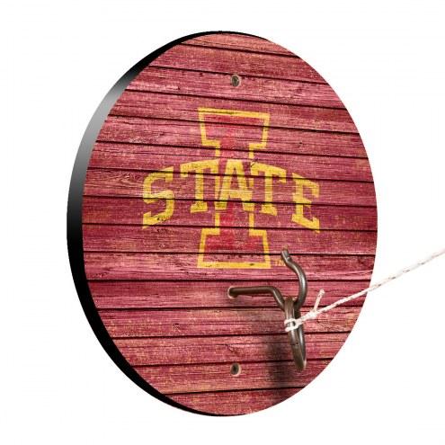 Iowa State Cyclones Weathered Design Hook & Ring Game