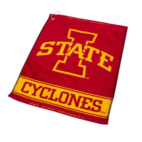 Iowa State Cyclones Woven Golf Towel