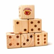 Iowa State Cyclones Yard Dice