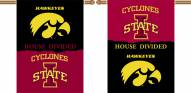 Iowa State/Iowa 2-Sided House Divided Banner
