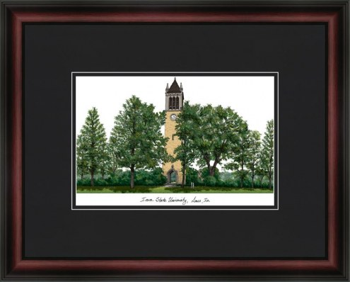 Iowa State University Academic Framed Lithograph