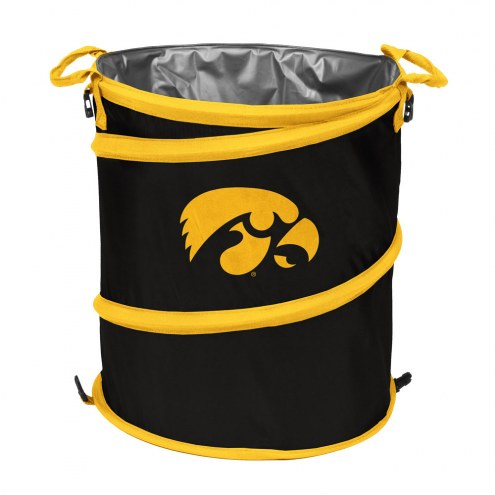Iowa Hawkeyes Collapsible Trashcan