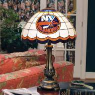 New York Islanders NHL Stained Glass Table Lamp