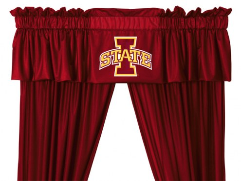 Iowa State Cyclones NCAA Jersey Window Valance