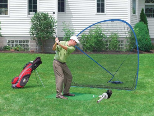 Izzo Home on The Range Golf Training Bundle