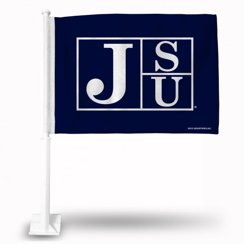 Jackson State Tigers Car Flag
