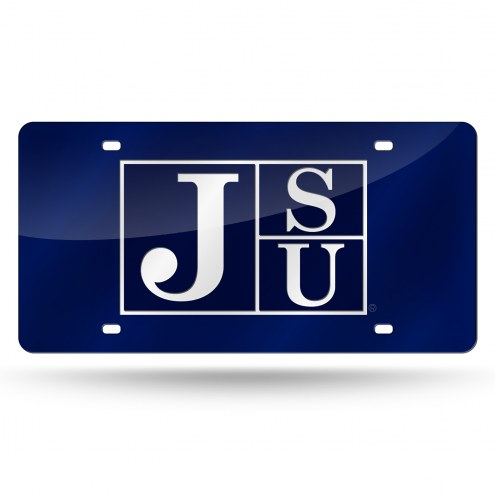 Jackson State Tigers Laser Cut License Plate