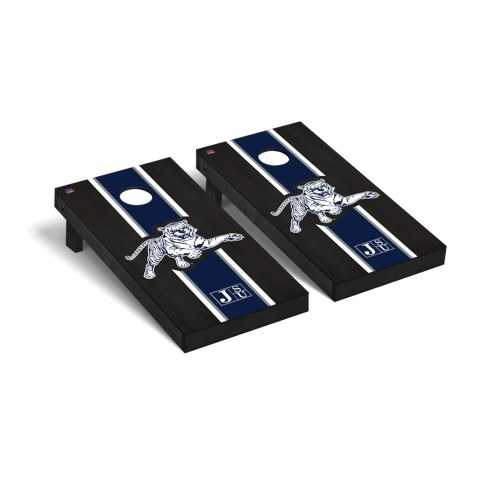 Jackson State Tigers Onyx Stained Cornhole Game Set