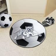 Jackson State Tigers Soccer Ball Mat