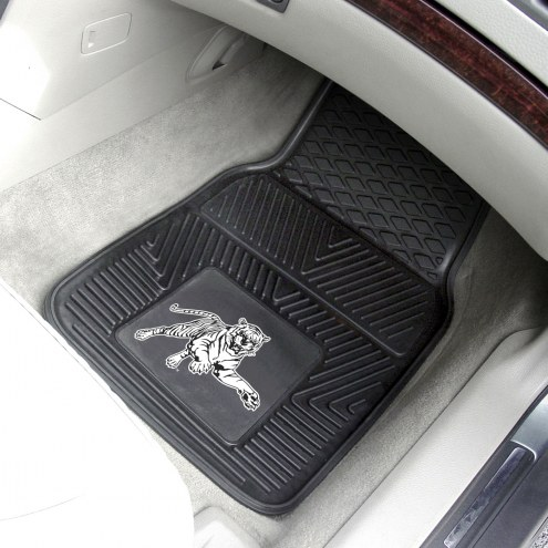 Jackson State Tigers Vinyl 2-Piece Car Floor Mats