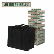 Jacksonville Dolphins Giant Wooden Tumble Tower Game