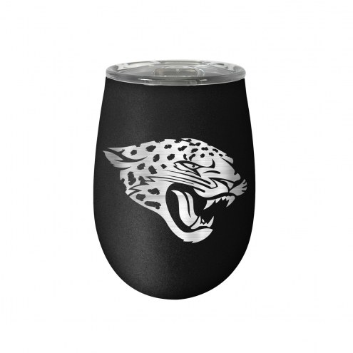 Jacksonville Jaguars 10 oz. Stealth Blush Wine Tumbler