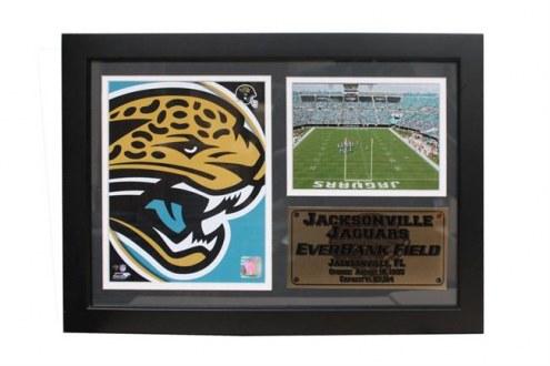 "Jacksonville Jaguars 12"" x 18"" Photo Stat Frame"