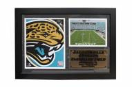 "Jacksonville Jaguars 12"" x 18"" Photo Stat Frame"