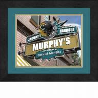 Jacksonville Jaguars 13 x 16 Personalized Framed Sports Pub Print