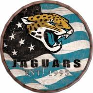 """Jacksonville Jaguars 16"""""""" Flag Barrel Top"""