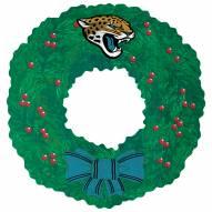 """Jacksonville Jaguars 16"""""""" Team Wreath Sign"""