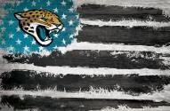 """Jacksonville Jaguars 17"""""""" x 26"""""""" Flag Sign"""