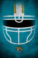 "Jacksonville Jaguars 17"""" x 26"""" Ghost Helmet Sign"