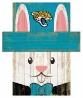"Jacksonville Jaguars 19"""" x 16"""" Easter Bunny Head"
