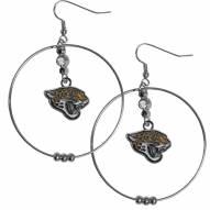"""Jacksonville Jaguars 2"""" Hoop Earrings"""