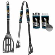 Jacksonville Jaguars 2 Piece BBQ Set with Tailgate Salt & Pepper Shakers