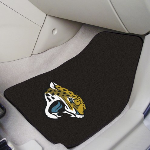 Jacksonville Jaguars 2-Piece Carpet Car Mats