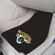 Jacksonville Jaguars 2-Piece Carpet Car Mats