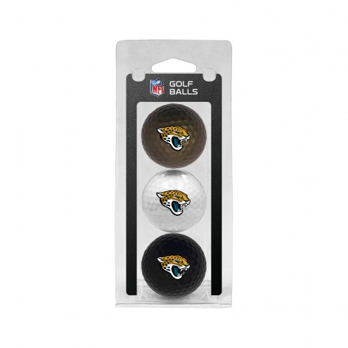 Jacksonville Jaguars 3 Pack of Golf Balls