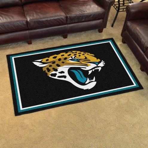 Jacksonville Jaguars 4' x 6' Area Rug