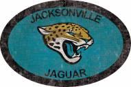 """Jacksonville Jaguars 46"""""""" Team Color Oval Sign"""